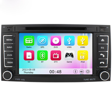 Free Shipping 7″ Touch Screen Car DVD Player for VW TOUAREG 2004-2011 T5 Multivan 2009 Transporter 2009 With Auto Navigation BT