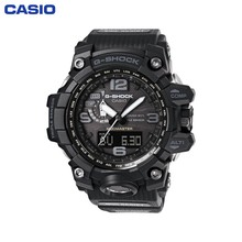 Наручные часы Casio GWG-1000-1A1 мужские кварцевые на пластиковом ремешке