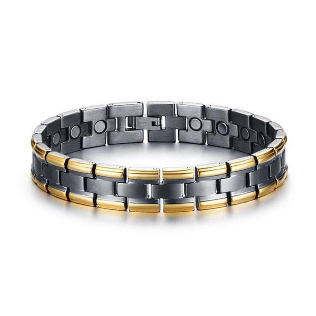 Trendy Magnet Bracelet Bangle Anium Material For Men Health Care Magnetic Charm Jewelry Wide