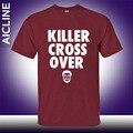 2015 Marca Mens t camisa Kyrie Irving T shirt sportwear 100% camiseta de algodão, de alta qualidade de treinamento de basquete camisa t Big tamanho