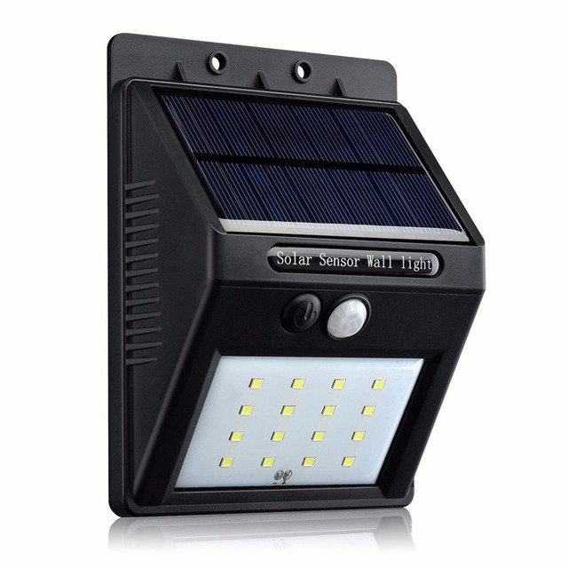 16 led outdoor solar powered lights motion sensor lamp for outdoor 16 led outdoor solar powered lights motion sensor lamp for outdoor garden waterproof exterior security wall mozeypictures Choice Image