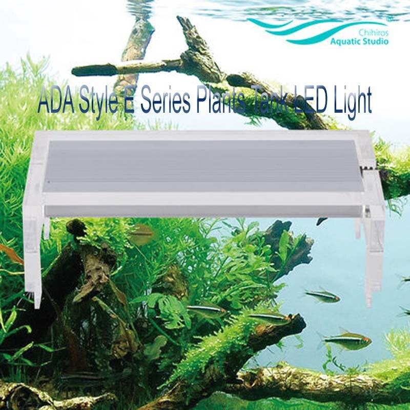 CHIHIROS ADA Style E Series LED Light lighting Plants Tank LED Light 40cm 45cm 50cm 60cm Aquarium Commander Sunrise Sunset Smart
