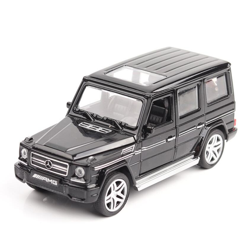 1 32 Diecasts Toy Vehicles Mercedes G65 AMG Car Model With Sound Light Collection Car Toys