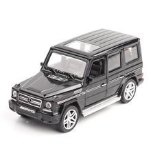 1/32 Diecasts и игрушечных автомобилей Mercedes G65 AMG Модель автомобиля со звуком и светом игрушки коллекции автомобилей для мальчиков Детский подарок brinquedos