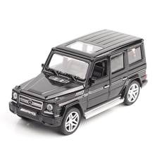 1/32 Diecasts & Toy Vehicles Mercedes G65 AMG Car Model With Sound&Light Collection Car Toys For Boy Children Gift brinquedos(China)