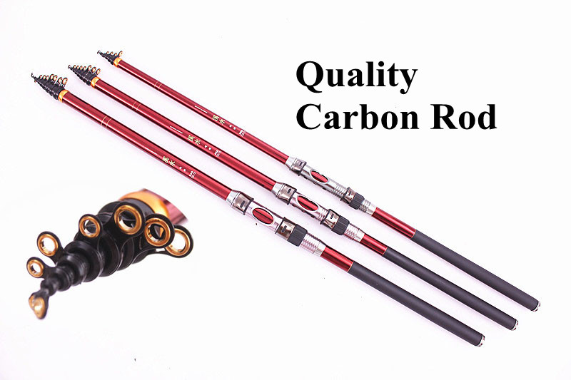 Aliexpress.com : Buy Telescopic Fishing Rods Full Carbon ...