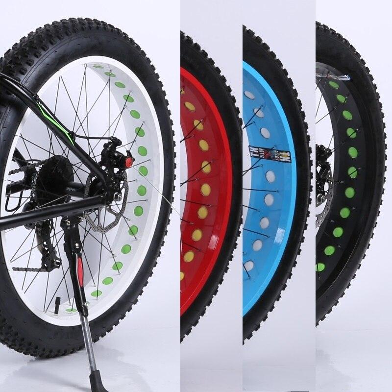 cool price 26 spoke 8.5mm ultra wide tyre mountain bike wheel snow beach fat bike wheelset