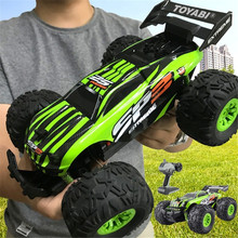 RC Car 2.4G 1/18 Monster Truck Car Remote Control Toys Controller Model Off-Road Vehicle Truck Toy 15KM/H For Kids Xmas Gifts