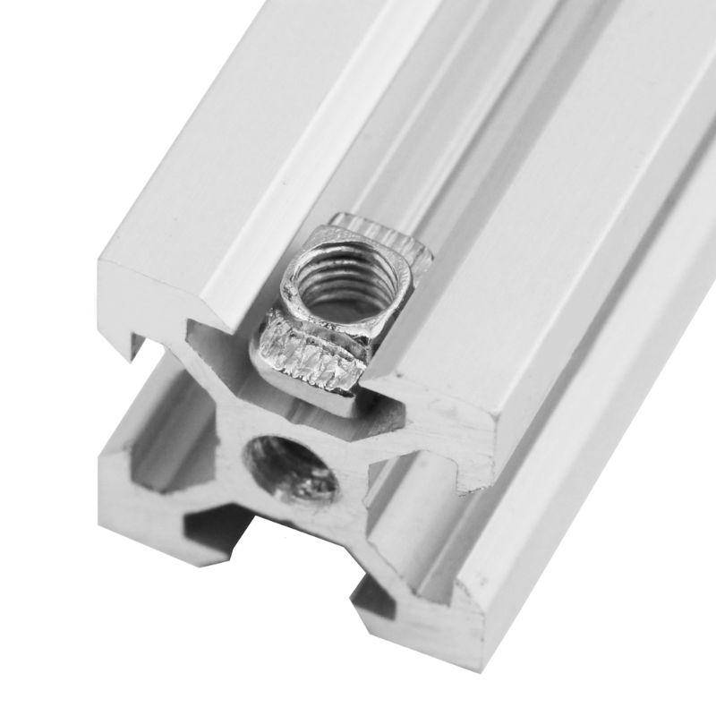 10PCS Durable Metal Aluminum Alloy M5 Double Tee Nuts Screw for 3D Printer Parts