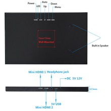 10.1″ 2560*1600 2K IPS Portable Gaming Monitor Surveillance 12.5mm LED LCD Computer Display With 2 Mini HDMI 12V/5V USB For PS34