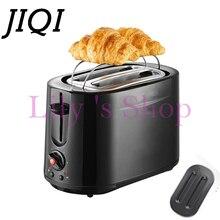 Высокое качество Бытовой Нержавеющей Стали 2 Ломтика Тостер Хлеб Тост выпечки Машина Электрический Круассан Завтрак чайник ЕС США plug