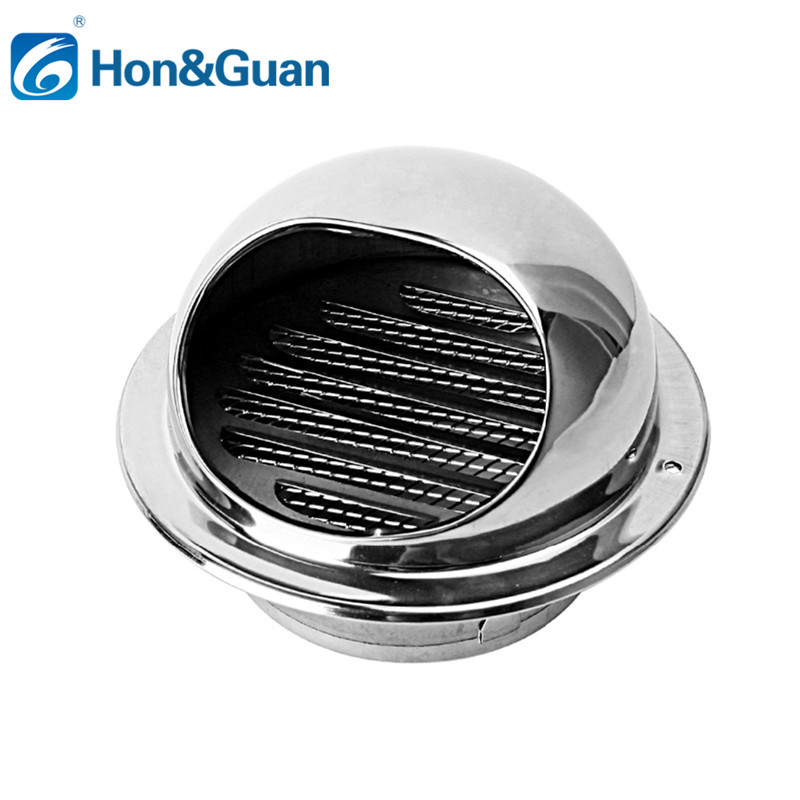 Stainless Steel Wall Ceiling Air Vent Ducting Ventilation Exhaust Grille Cover Outlet Heating Cooling & Vents Cap WaterproofStainless Steel Wall Ceiling Air Vent Ducting Ventilation Exhaust Grille Cover Outlet Heating Cooling & Vents Cap Waterproof