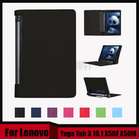 3 In 1 New Stand Litchi Pu Leather Case Cover For Lenovo Yoga Tab 3 10