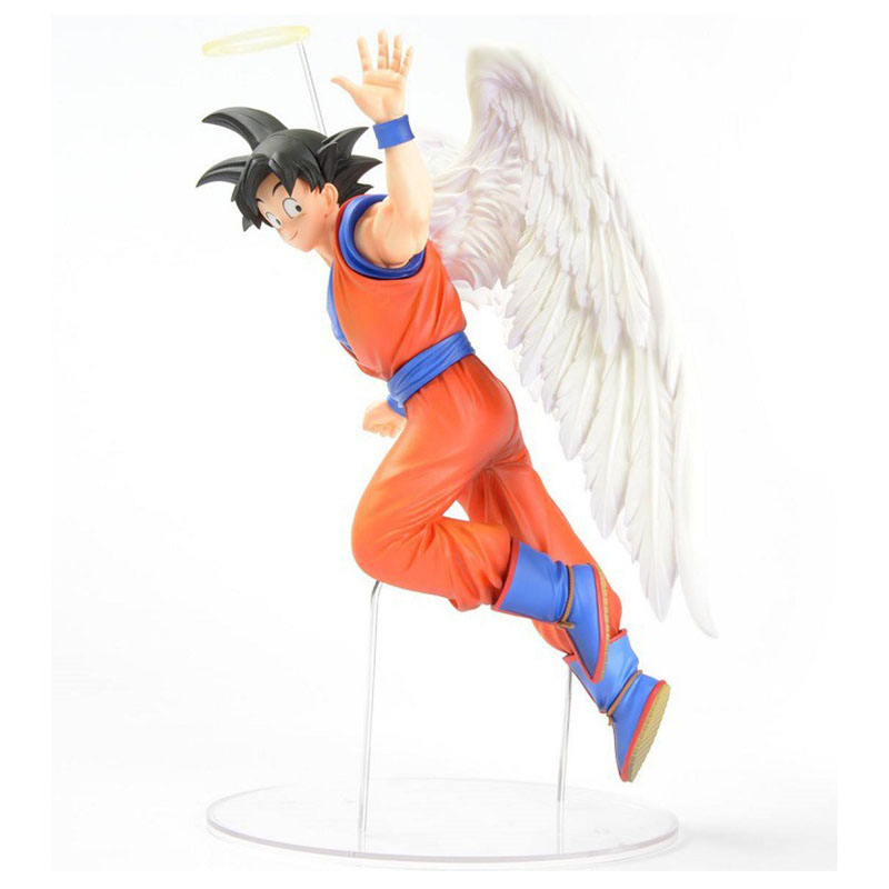 Dragon Ball Son Goku PVC Action Figures DRAMATIC SHOWCASE Angel Goku Dragon Ball Z Model Toy Doll Figuras DBZ Gokou Brinquedos shfiguarts anime dragon ball z son gokou movable pvc action figures collectible model toys doll 18cm dbaf094