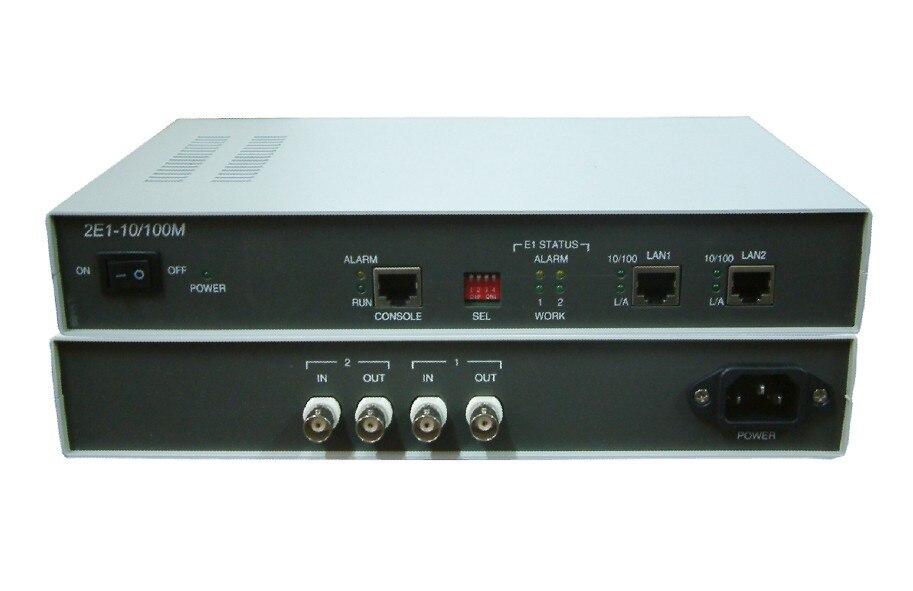 Hightek HT 008 мост lan на существующих e1 основе сети 2e1 конвертер протокола Ethernet