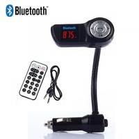 MP3 Audio Player Bluetooth A2DP FM Transmitter Handsfree LCD Display Support U Disk SD TF Card
