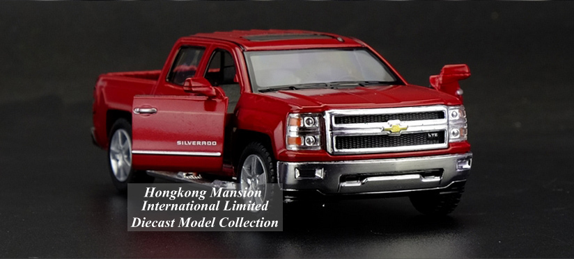 136 Car Model For Chevrolet SILVERADO Pickup (2)