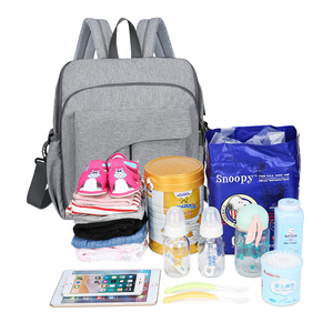 Image 3 - Multifunction Diaper Bag Backpack for Moms Maternity Bag for Baby Care Bag for Cart Stroller Nappy Carriage Mommy Changing Bag