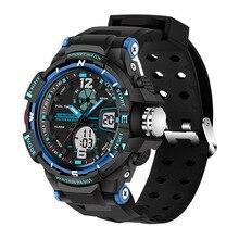 2017 Retro Antigüedades Digitales Hombres Reloj de Buceo Reloj Deportivo LED Reloj Militar Relojes relogio masculino digitales