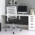 Aingoo Ergonomically Office Chair with T Arms Office/Computer Chair Breathable One Height Adjustable Office Chair