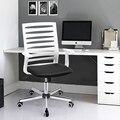 Aingoo Ergonomicamente Cadeira de Escritório com Braços T Do Escritório/Cadeira Do Computador Cadeira de Escritório Respirável Uma Altura Ajustável