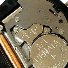 סיטונאי 3pcs רונדה 505 שעון קוורץ תנועה 3 ידיים תאריך