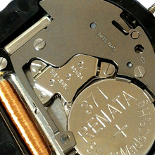 Groothandel 3pcs RONDA 505 Horloge Quartz Uurwerk 3 Handen Datum