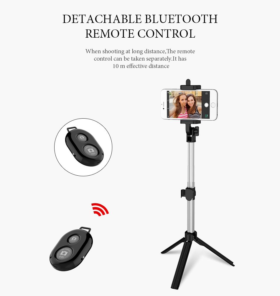 Bluetooth Selfie Stick Tripod (3)