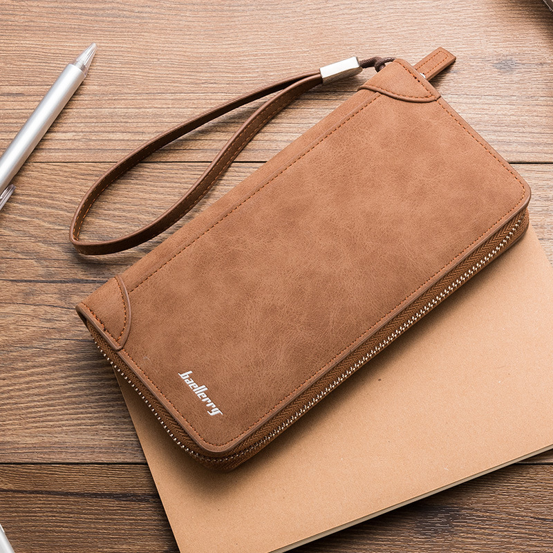 Detail Feedback Questions about Men Fashion Casual Long Zipper Wallet Male  Vintage Phone Wallets And Purse Multifunction Clutch Bag Plastic Credit  Card ...
