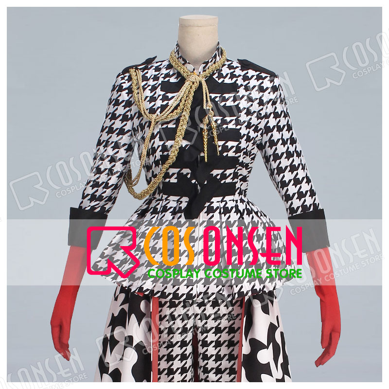 Black Butler Ciel Phantomhive Bird Illustration Fan Art Checker Dress Cosplay Costume new adult COSPLAYONSEN costume-in Anime Costumes from Novelty & Special Use    1