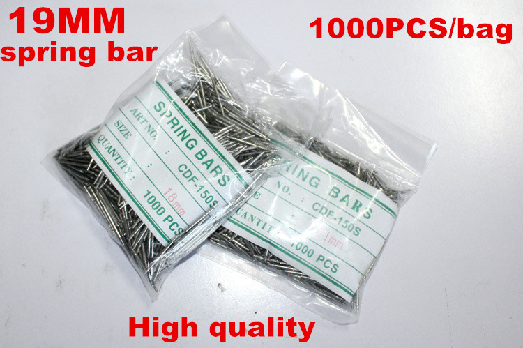 Wholesale 1000PCS / bag High quality watch repair tools & kits 19MM spring bar watch repair parts -041411