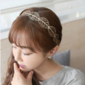Hair Jewelry Hollow Alloy Leaves Head Hoop Band Bridal Wedding Hair Accessories Hairbands Headband Girl Lady Gifts