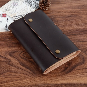 2018 New vintage retro A6 notebooks Microfiber Leather PU Kraft paper note book Agenda diary journal office school supplies gift Notebooks