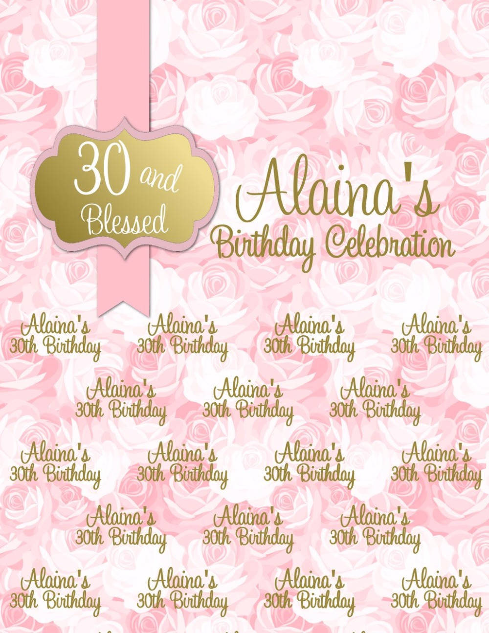 Customized 30th birthday Photo background pink vinyl Photography backdrops for studio photo background Camera fotografia retro background christmas photo props photography screen backdrops for children vinyl 7x5ft or 5x3ft christmas033