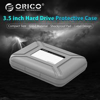 ORICO PHX 5S GY Simple HDD Protector Box for 3.5 HDD Case with Waterproof Function 5PCS/LOT Gray