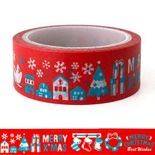 20pcs/set Merry Christmas Washi Tape Masking Decoration Creative Stationery