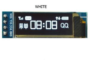 White 0.91 Inch OLED Screen 128x32 LCD Screen Display Module For Arduino
