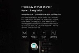 Image 3 - 3S Bluetooth 5V 3.4A Autolader Muziekspeler Fm Smart App + Magnetische Autohouder Voor Smartphone