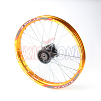 1.60x 17'' Front Rims Aluminum Alloy Disc Plate Wheel Rims Pit Dirt Bike Motor