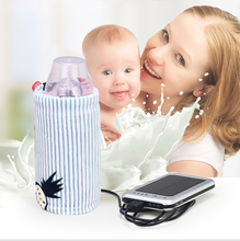 Milk Warm Travel Stroller USB Milk Water Warmer Insulated Bag Baby Nursing Bottle Heater(China)