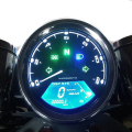 HOT Sale Universal LCD Digital Speedometer Odometer Motorcycle MotorBike F1,2,4 Cylinders