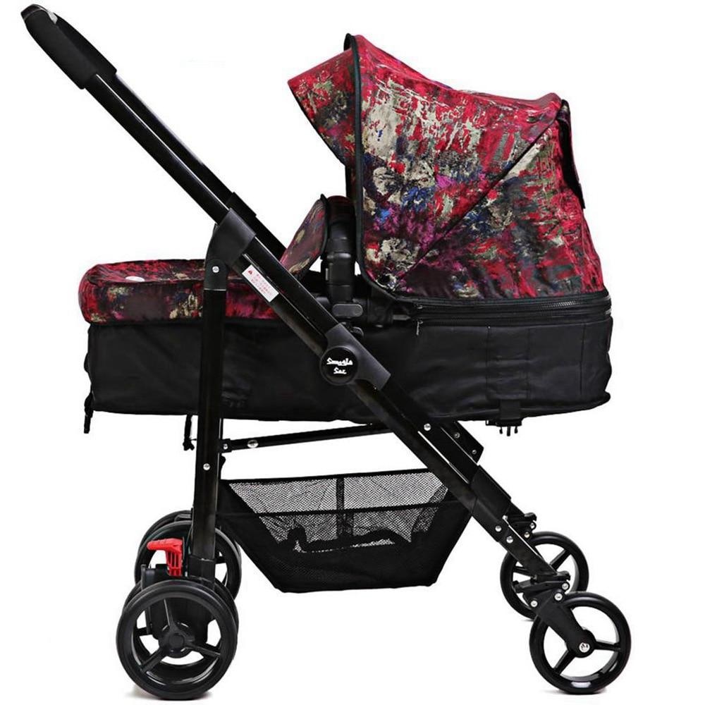 i-baby Draagbare Opvouwbare Paraplu Kinderwagen Snuggle Sac Monet - Activiteit en uitrusting voor kinderen - Foto 4