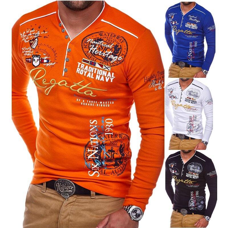 ee9e499c 2018 New Men's Polo Shirt Long Sleeve XL Polo Shirt Men Plus Size 3XL 4XL  Autumn Winter Brand Casual Male Shirt Mens polo Shirts