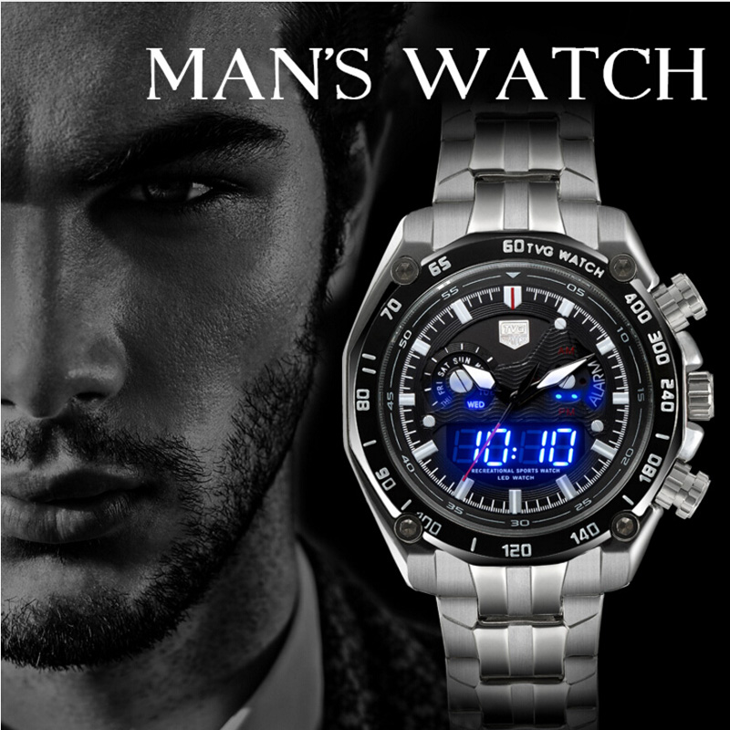 Uhren Valentinstag Geschenk Mode-liebhaber Uhren Woonun Famous Brand Männer Voller Stahl Quarz Ultradünne Uhren Paar Uhren Verkaufsrabatt 50-70%