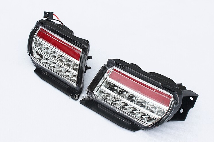 eOsuns LED rear bumper light rear fog lamp brake light for toyota prado 2700/4000/LC150 2010-16, 2pcs eosuns rear bumper light fog lamp for