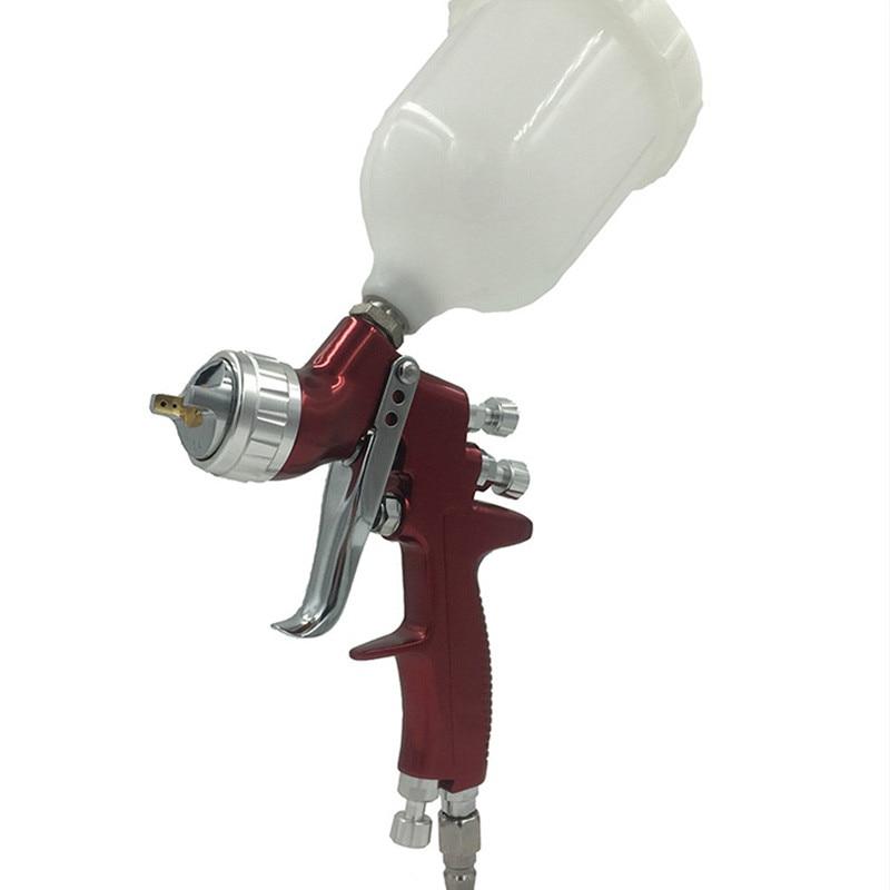 цена на SAT0078 LVMP Air Car Paint Spray Gun Gravity Feed Pneumatic Paint Tool Airbrush Sprayer
