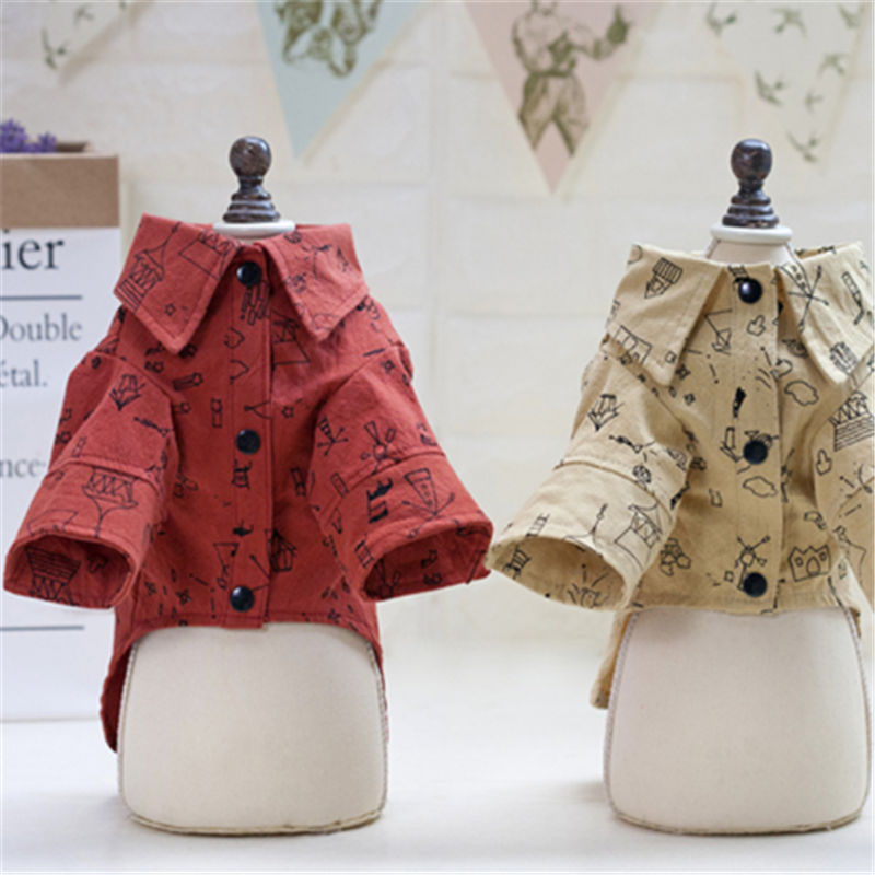 Dog Clothes for Small Dog Dog Clothing Summer Hoody pet shirt Coat T shirt Honden Kleding Dog Clothes in Dog Coats Jackets from Home Garden