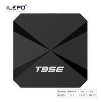 ILEPO T95E Android 6 0 Smart TV Box RK3229 Quad Core Cortex A7 2 4GHz 1GB