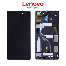 Tested Original 1920x1080 LCD For Lenovo vibe X2 Pro Display with Touch Screen Digitizer For Lenovo vibe X2 Pro LCD X2PT5