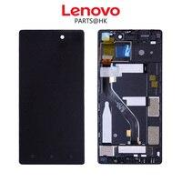 Test Orijinal Lenovo vibe X2 Pro Için 1920x1080 LCD Ekran Lenovo vibe X2 Pro Için Dokunmatik Ekran Digitizer ile LCD X2PT5